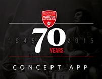 Pallacanestro Varese - 70 Years Concept App
