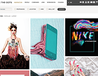 FEATURED on THE.DOTS- featuring creatives worldwide
