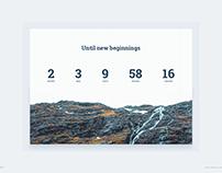 Day 786 • Countdown Timer UI Design