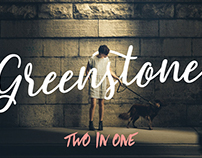 Greenstone Script + Summer Hearts (Brush Typefaces)