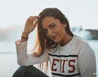 Débora Monteiro & Levi's