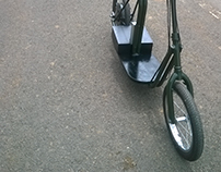 Olivia, an electric urban mobility scooter