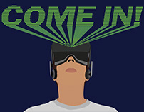 Welcome VR Lab Poster