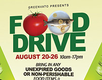 Food Drive Flyer Templates