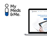 MyMeds&Me Brand Identity and Website