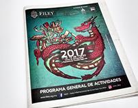 Programa de Actividades FILEY 2017