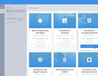 Saral eLearning Platform Concept