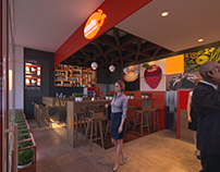 ENDA , ACCRA MALL - INTERIOR DESIGN + 3D VISUALIZATION