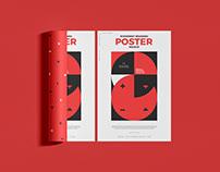Branding Poster Mockup Free