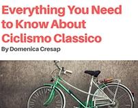 Domenica Cresap: Ciclismo Classico 101