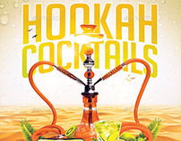 Hookah Cocktails | Summer Party PSD Flyer Template
