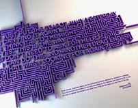 "PRINT // 2016 // ""Maze"""