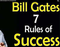 Bill Gates 7 Rules of Success - Microsoft Founder - Mot