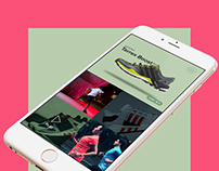 Adidas Boost UI