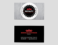 Royalty Construction Logo + Branding