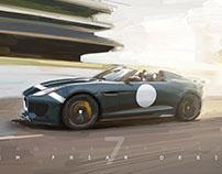 Jaguar F type - Project 7, Paint Render