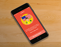 UX | UI Mobile project - Brazuka Events App