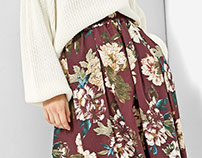 Floral Print for Stradivarius
