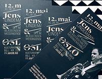 Jens Lindemann / Yamaha artist / Poster design