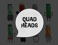Illustration | Quad Heads