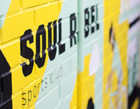 Soul Rebel sports club identity