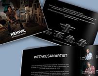 It takes an artist brochure