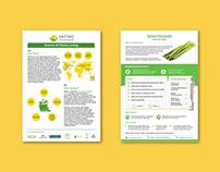 Leaflet Designing - Sattvic