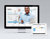 Quantum IT Professionals - Landing Page