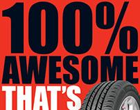 Firestone FS100 Tyre launch