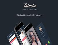 Trimbo Social App UIKit