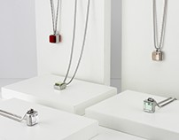 CUBE necklaces