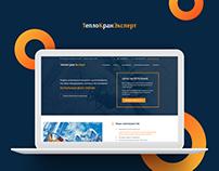 ТеплоКранЭксперт / Engineering Company Website