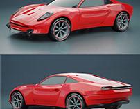 Generic sportscar 3d model