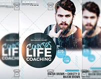 Life Coaching Courses - Business A5 Flyer Template
