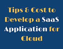 Tips and Cost to Develop a SaaS Application for Cloud