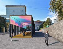Exhibition pavillion