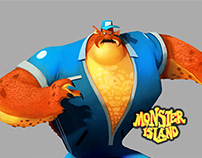 Monster Island - Character Design