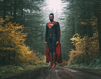 Superman in the Pacific North West.
