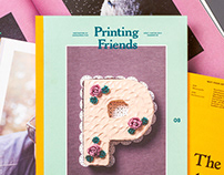 Printing Friends Magazine No 8 – Food