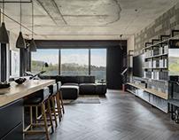 JAZZ apartment by ZIKZAK Design Studio