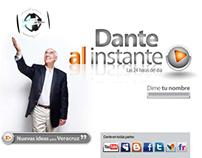 Dante al instante   desarrollo web