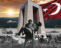 Çanakkale - Bursa Turu Afiş Çalışması - Pienart