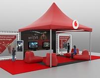 Vodafone Outdoor Tent