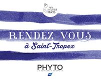 Rendez-vous à Saint-Tropez (Phyto) - Webdesign