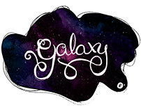 TYPOGRAPHY // Galaxy