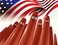Sony's  Sausage Party artwork