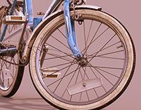Universal Vintage Folding Bicycle