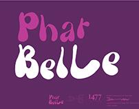 Phat Belle Typeface Design