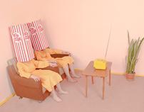 Pastel room series