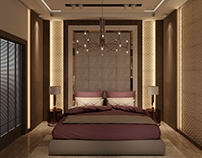 Master Bed Room in KSA